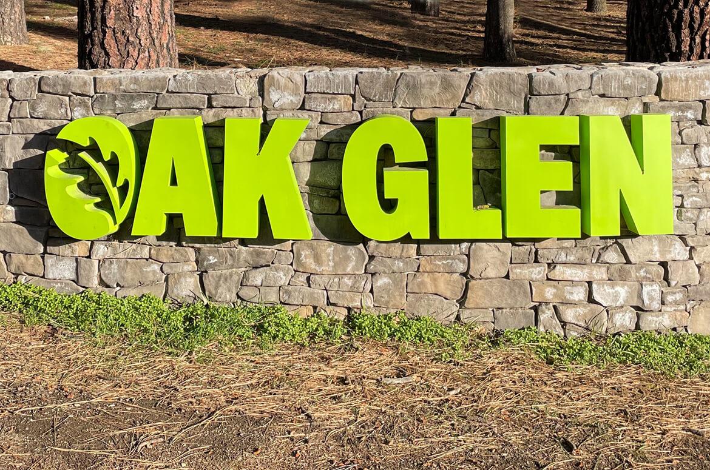 Oak Glen Signage
