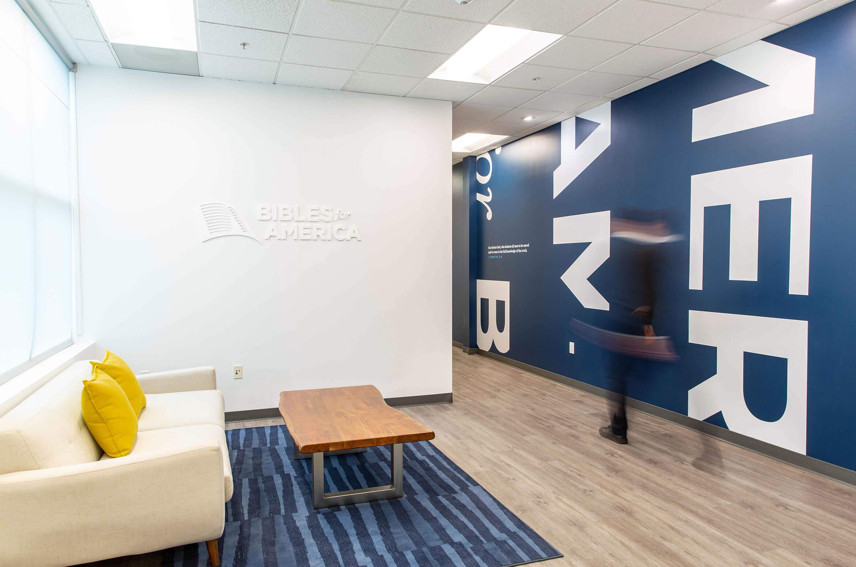 Bibles for America office interior design