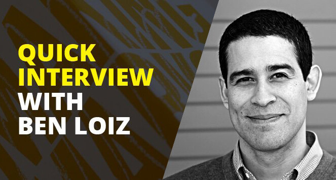Ben Loiz interview on the This Design Life blog.