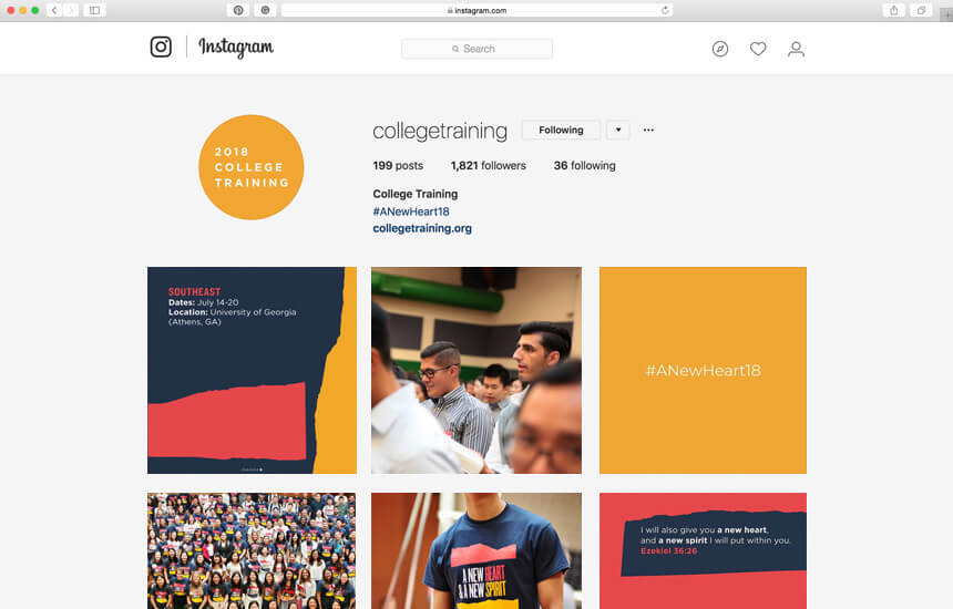 2018 College Training Brand Identity Design
