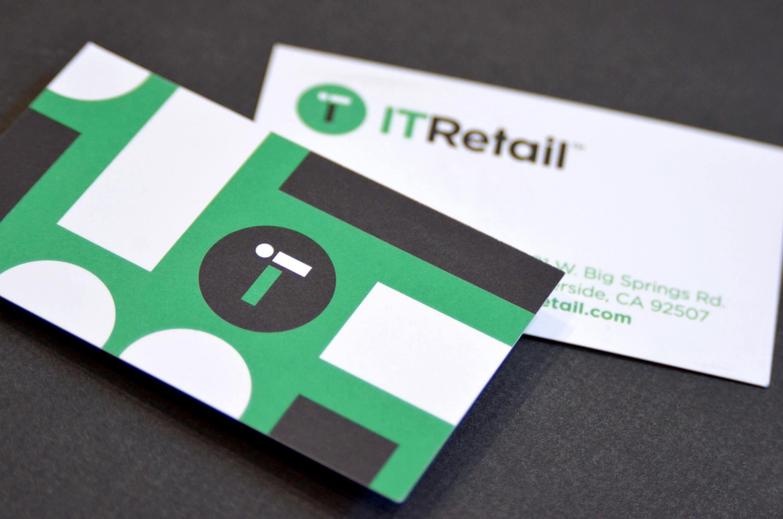 Modern business card design.