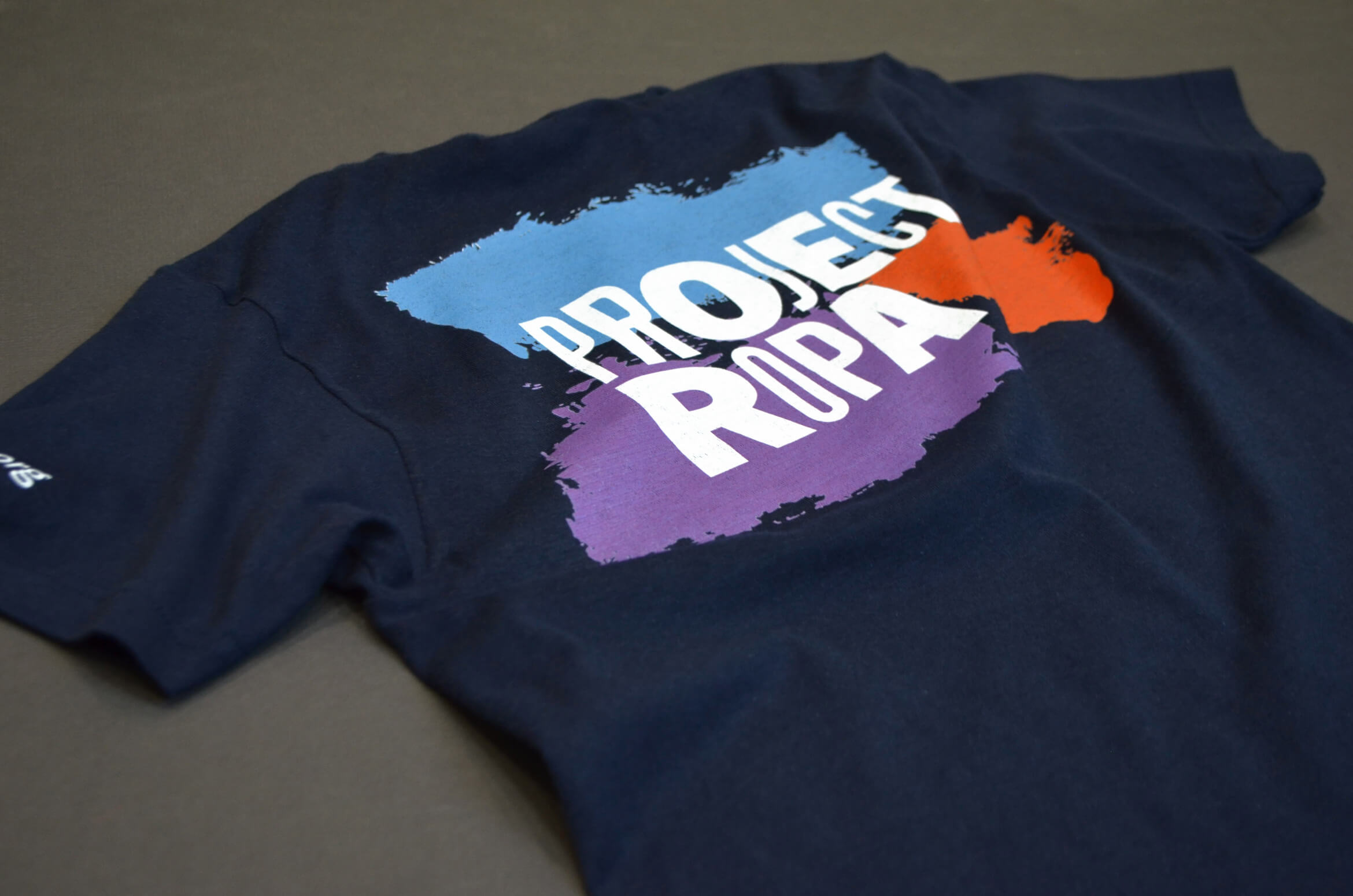 T-shirt design for non-profit, Project Ropa.
